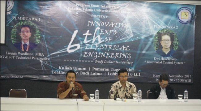 6Th Innovation Expo of Electrical Engineering (IEEE) Universitas Budi luhur 2017